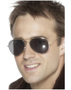 Ezüst Aviator napszemüveg