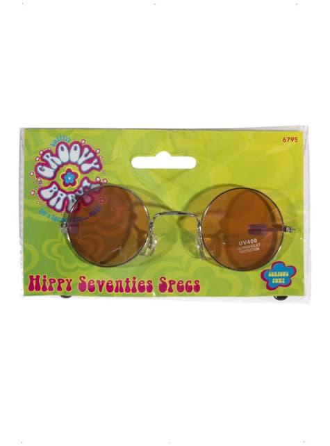 Lunettes Hippies des Années 70