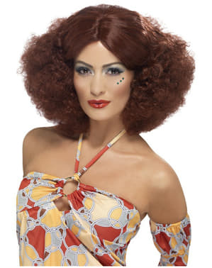 70-tals Afroperuk Rödbrun