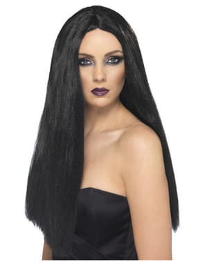 Перука от вещица с дълга коса