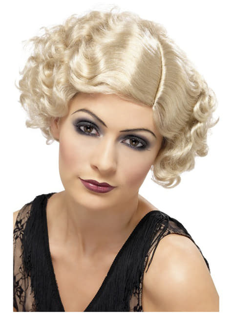 Peruka kokietka blond