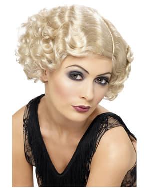 Кокетка блондинка перуку
