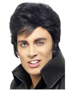 Zwarte Elvispruik