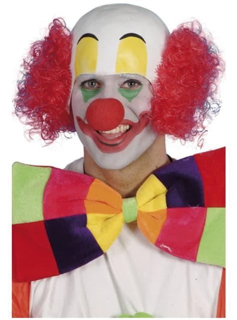 Clown Perücke Glatzkopf