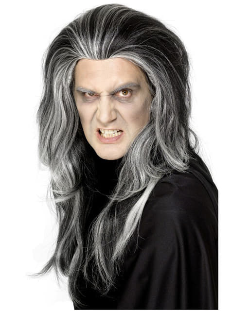 Peluca de vampiro gótico