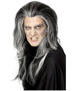 Peruka gotycki wampir
