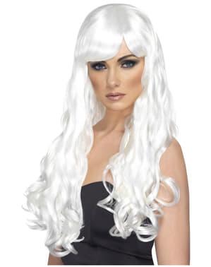 Desire valkoinen peruukki