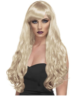 Peruca dorinței blondă