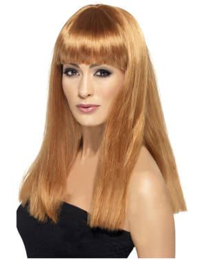 Glamourama Auburn Wig