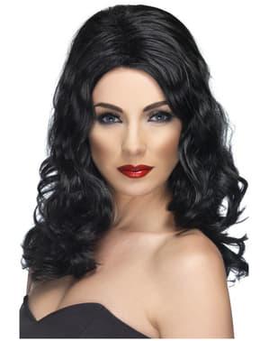 Glamorous Black Wig