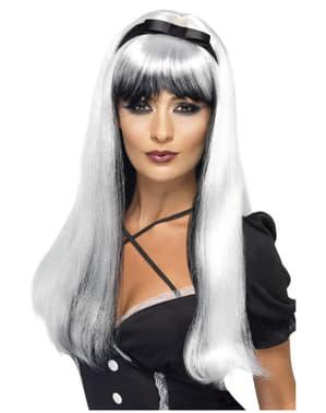 Förförisk peruk Silver