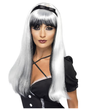 Seductress Silver Wig