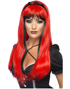 Parrucca seducente rossa