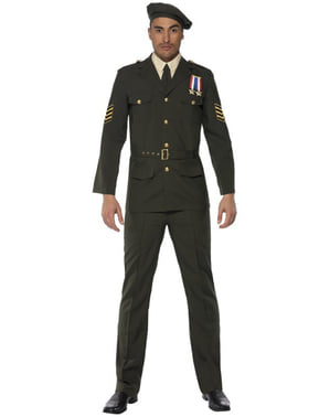 Kostým armádní důstojník