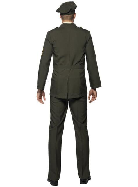 Disfraz de oficial de guerra - hombre