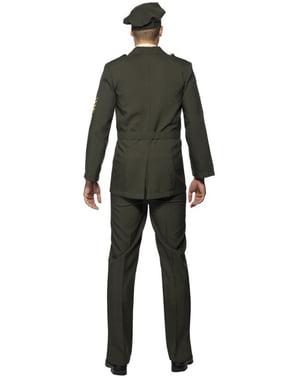 Officier oorlog kostuum