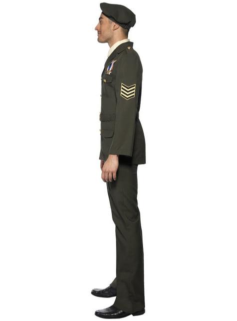 Déguisement d'officier de guerre