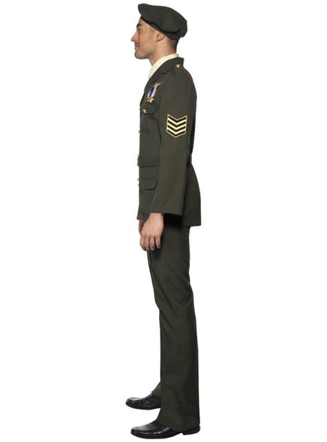 Disfraz de oficial de guerra - original