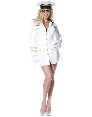 Costum de ofițer Top Gun pentru femeie