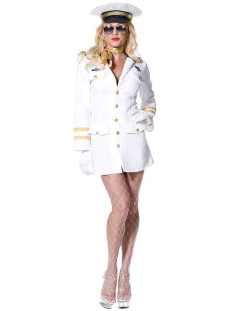 Fato de oficial de Top Gun para mulher