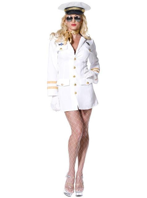 Жіночий верхній офіцер костюма гармати