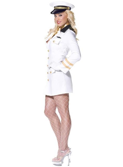 Costume da ufficiale Top Gun da donna