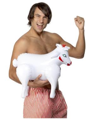Uppblåsbar får
