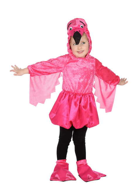 Flamingo Kostüm für Mädchen