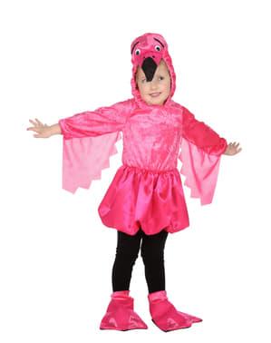 Fato de flamingo para menina