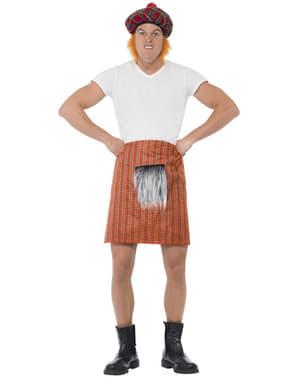 Zestaw spódnica w szkocą kratę