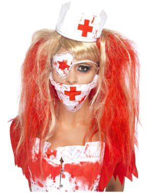 Bloederige verpleegstersoutfit