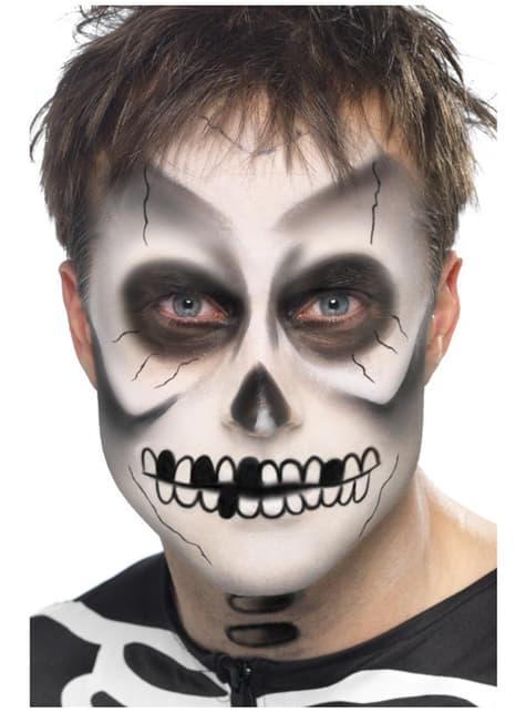 Set de maquillaje de esqueleto