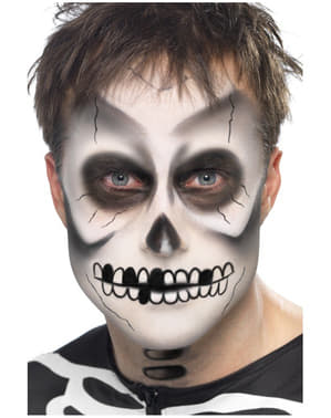 Skeleton Make-Up Set