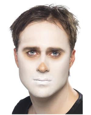 Sæt med skelet make-up