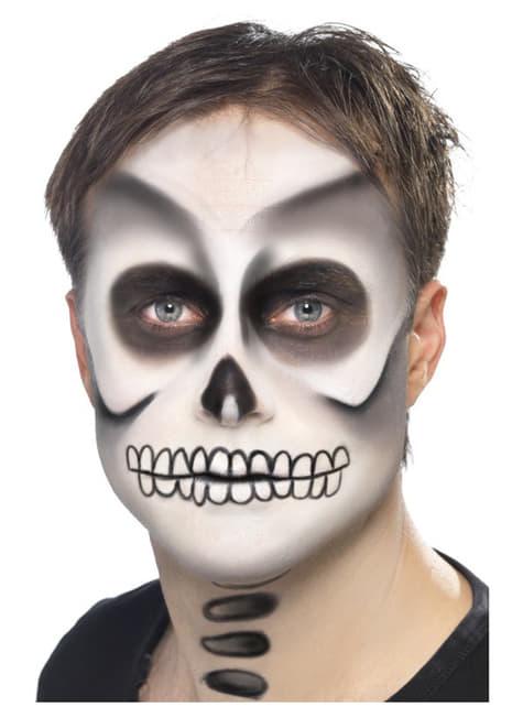 Set de maquillaje de esqueleto - Halloween
