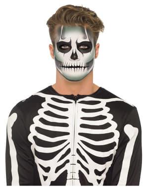 Set trucco da scheletro che brilla al buio