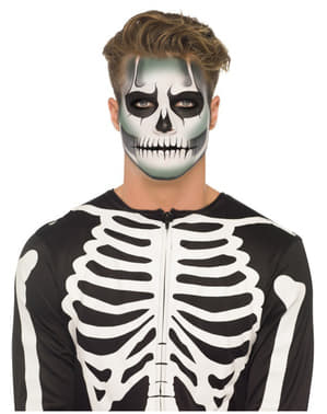 Skeleton Glowing in the Dark Make-Up