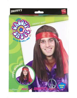Kit de homem hippie