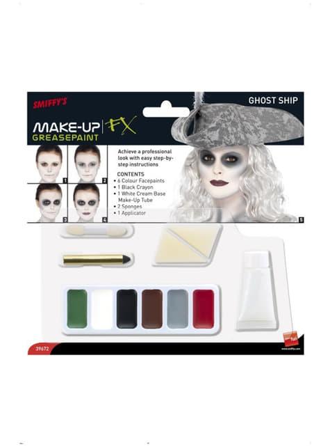 Sæt med spøgelsesskib make-up