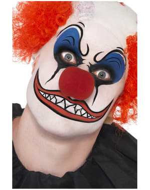 Make-upset clown