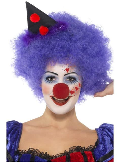 Make-upset clown