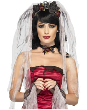 Zestaw Strój Halloween Panna Młoda