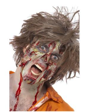 Zestaw zombie z lateksu