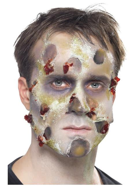 Set de zombie de látex - para completar tu disfraz