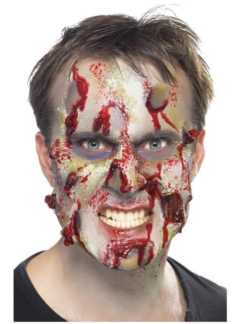 Set de zombie de látex - originales y divertidos