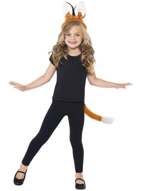 Kit de vulpe pentru copii