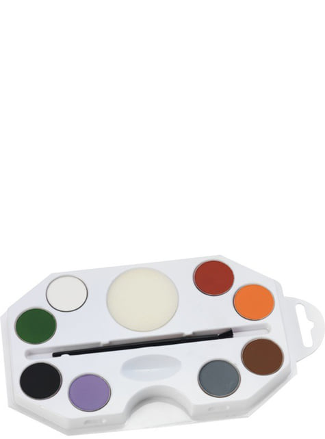 Aqua Halloween Makeup Set