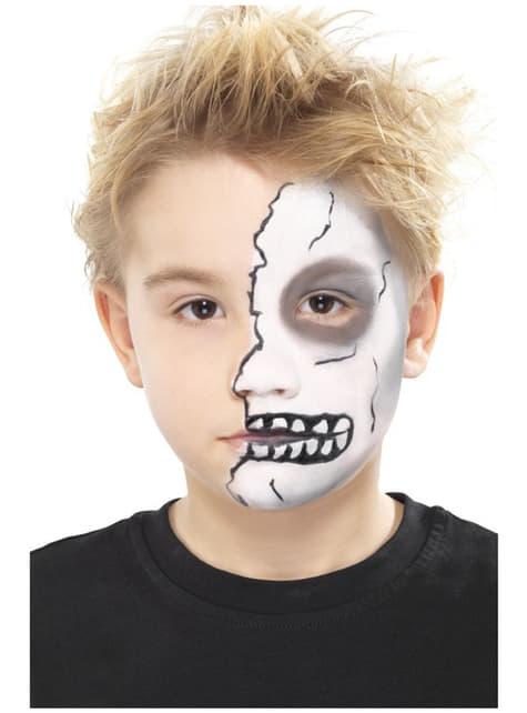 Conjunto de maquilhagem aqua de Halloween