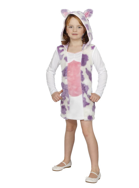 Cow costume for girls