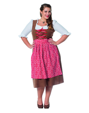 Innkeeper costume for women